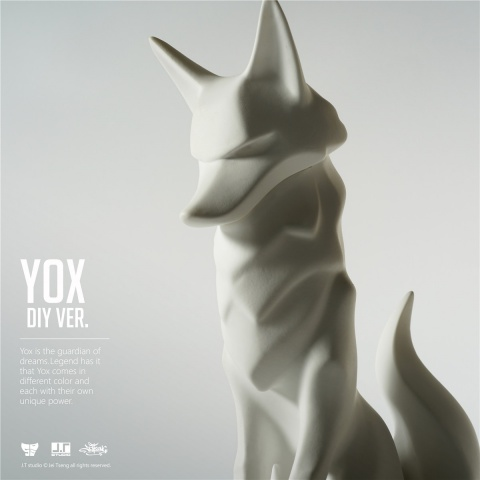 YOX是守護夢想的使者,傳說不同顏色的YOX會帶來各種不同的力量. Yox is the guardian of dreams.Legend has it that Yox comes in different color and each with their own unique power.